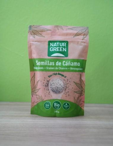Semillas Cañamo Molidas Naturgreen 200gr Eco S/Gluten
