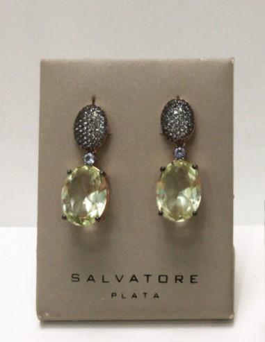 Pendientes plata Salvatore